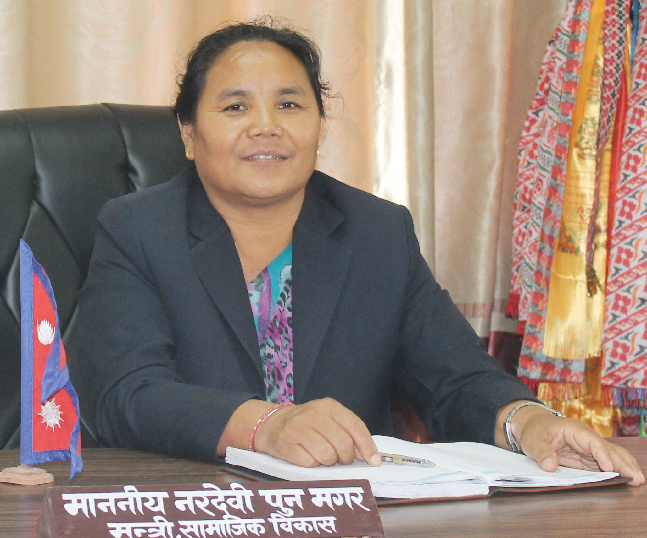 Honorable Minister Ministry of Social Development, Gandaki